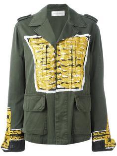 куртка в стиле милитари с принтом Faith Connexion