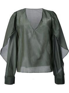 блузка с V-образным вырезом Bianca Spender