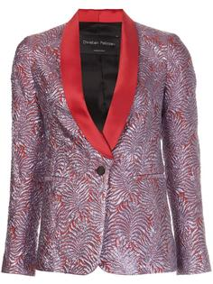 metallic smoking jacket  Christian Pellizzari