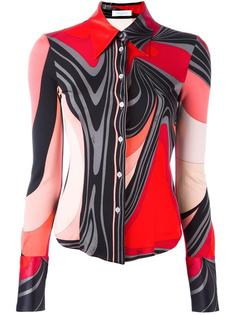 printed fitted shirt Emilio Pucci Vintage