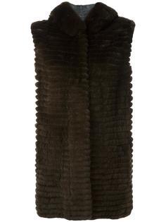 padded sleeveless coat Yves Salomon