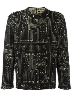 micro chip patterned jumper Jean Paul Gaultier Vintage