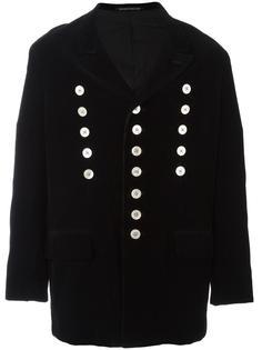 corduroy double breasted coat Yohji Yamamoto Vintage