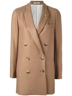 double breasted coat Lardini