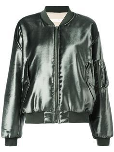 шелковая куртка-бомбер Ssheena