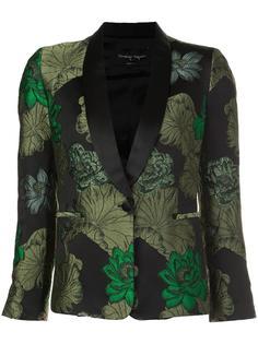 jacquard smoking jacket Christian Pellizzari