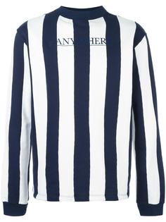 striped sweatshirt Roundel London