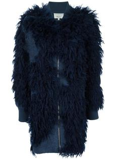 faux fur knit bomber coat 3.1 Phillip Lim