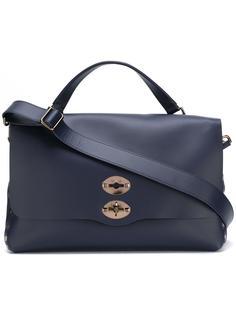 сумка-тоут с поворачивающимся замком Zanellato