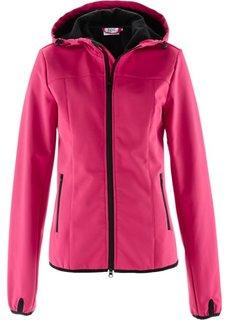 Куртка-софтшелл (черный) Bonprix
