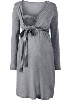 Мода для беременных: платье с функцией кормления (черный) Bonprix