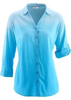 Блузка деграде (ежевичный матовый) Bonprix