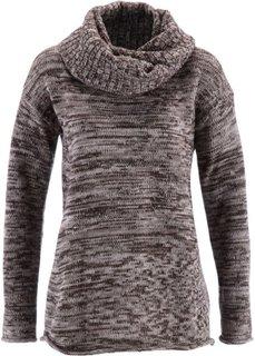 Пуловер + шарф (2 изд.) (королевский синий меланж) Bonprix