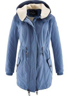Удлиненная куртка (темно-бордовый) Bonprix