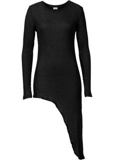 Удлиненная футболка (серый) Bonprix