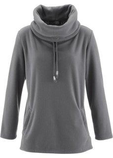 Флисовый пуловер (нежно-розовый) Bonprix