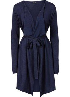 Вязаное пальто (бежевый) Bonprix