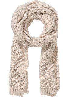 Очень длинный шарф с декоративным жемчугом (телесный) Bonprix