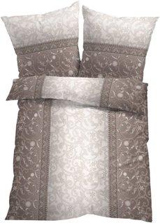 Постельное белье Фиона, линон (серебристый) Bonprix