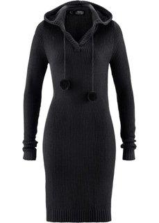 Вязаное платье (петролевый) Bonprix