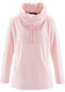 Флисовый пуловер (дымчато-серый) Bonprix