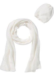 Длинный шарф + шапочка (2 изд.) (бордовый) Bonprix