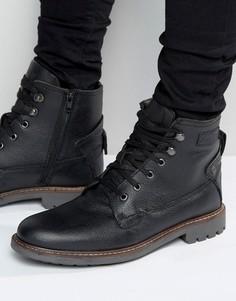 Армейские ботинки на шнуровке Firetrap - Черный