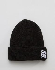 Черная шапка-бини Nike SB Surplus 804539-010 - Черный