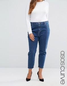 Синие джинсы в винтажном стиле ASOS CURVE Farleigh - Синий