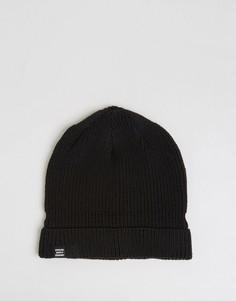 Черная шапка-бини Herschel Supply Co Buoy - Черный