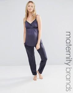 Пижамные штаны для беременных Cake Gateau - Серый