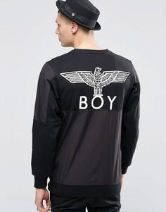 Свитшот с принтом орла Boy London - Черный