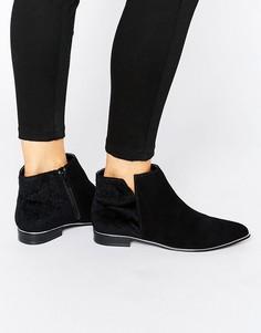 Ботинки с металлической отделкой Miss KG - Черный