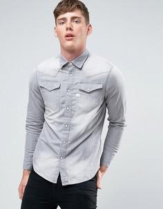 Джинсовая рубашка G-Star Tacoma - Серый