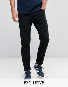 Черные зауженные джинсы Noak - Черный