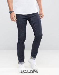 Супероблегающие джинсы цвета индиго Noak - Синий