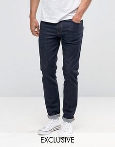 Зауженные джинсы цвета индиго Noak - Синий