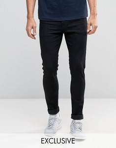 Черные супероблегающие джинсы Noak - Черный