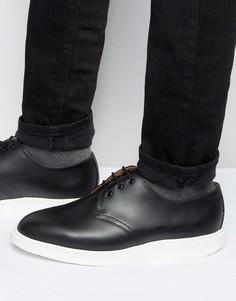 Туфли с 3 парами люверсов Dr Martens Torriano - Черный