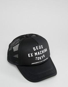 Бейсболка Deus Ex Machina Tokyo - Черный