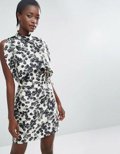 Платье мини ASOS WHITE - Мульти