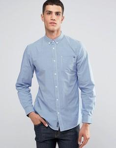 Рубашка в мелкую клеточку Tokyo Laundry - Синий