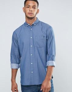 Саржевая оксфордская рубашка Tokyo Laundry - Синий