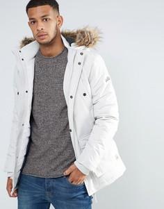 Куртка с искусственным мехом Tokyo Laundry - Белый