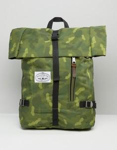 Рюкзак с закатанным верхом Poler - Зеленый
