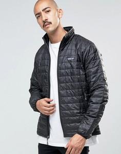 Черная дутая куртка Patagonia Nano - Черный