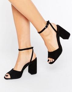 Truffle Flare Heeled Sandal - Черный