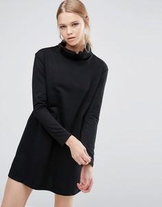 Платье с высокой горловиной Love & Other Things - Черный