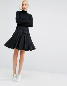 Weekday Skater Skirt - Черный