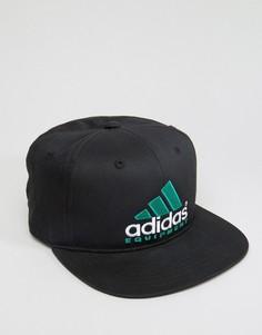 Черная бейсболка adidas Originals Equipment AY9420 - Черный